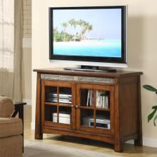 See Details - Craftsman Home - 45-inch TV Console - Americana Oak Finish