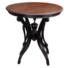 Accent Table - Mahogany