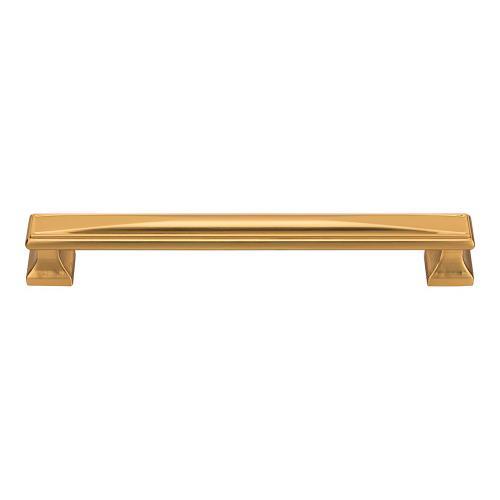 Wadsworth Pull 7 9/16 Inch (c-c) - Warm Brass