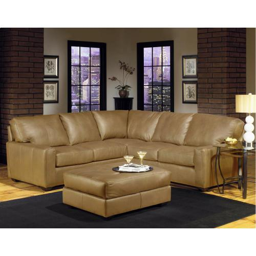 USA Premium Leather Furniture - Lsf Sectional
