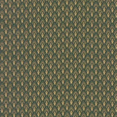 Flash Furniture - 18.5''W Church Chair in Georgetown Alpine Fabric with Book Rack - Gold Vein Frame