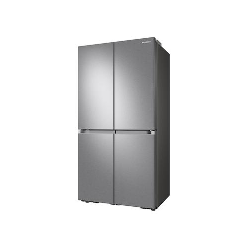 23 cu. ft. Smart Counter Depth 4-Door Flex™ refrigerator with AutoFill Water Pitcher and Dual Ice Maker in Stainless Steel