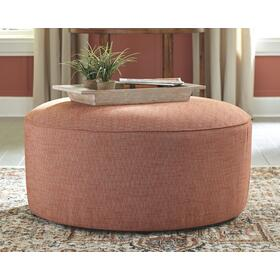 Almanza Oversized Accent Ottoman Wheat