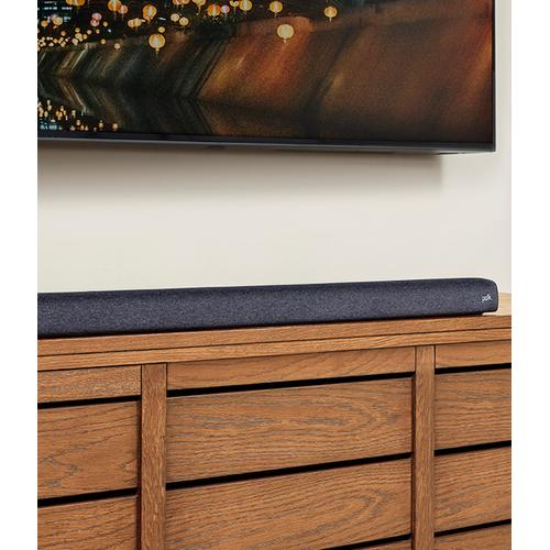 UNIVERSAL SOUND BAR AND WIRELESS SUBWOOFER WITH CHROMECAST BUILT-IN in Black
