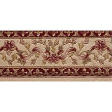 Ashton House Ribbon Trellis A01b Beige Border