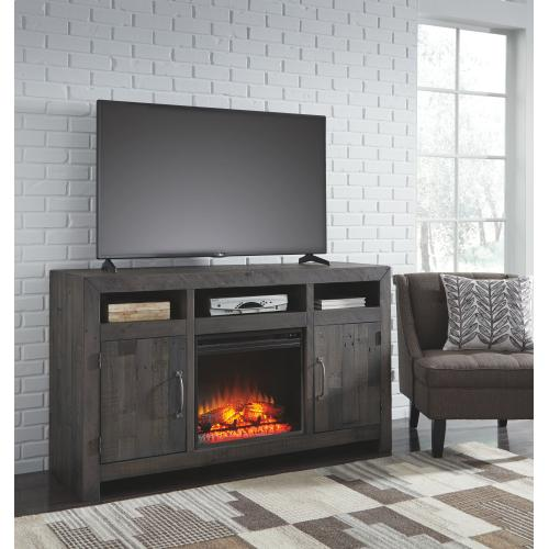 """Mayflyn 62"""" TV Stand With Electric Fireplace"""