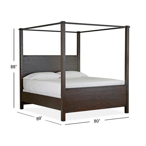Magnussen Home - Complete King Poster Bed