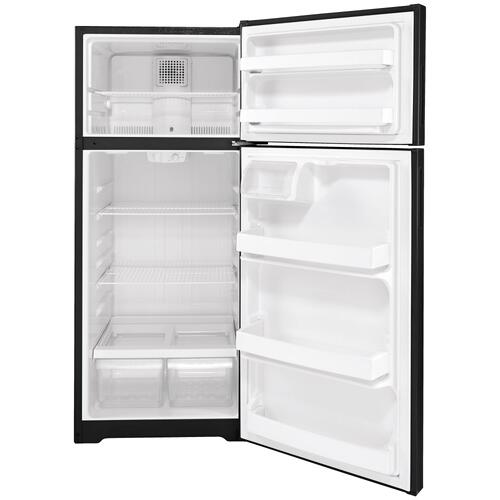 Hotpoint® 17.5 Cu. Ft. Recessed Handle Top-Freezer Refrigerator