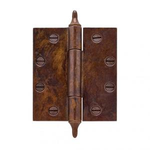 """Butt Hinge - 4 1/2"""" x 4"""" Silicon Bronze Brushed Product Image"""