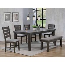 "Bardstown Dining Table Grey(18""lfaf"