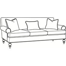 Cheshire 3 over 3 Sofa