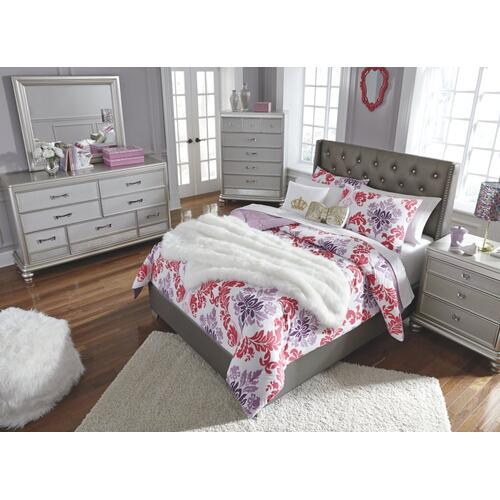 Coralayne Full Upholstered Bed