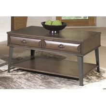 Rectangular Cocktail Table in Harbor Gray Finish         (5517-01,52922)