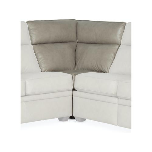 Bradington Young Sectionals 202 Reece Reclining Sectional with Two-Piece Back
