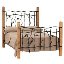 View Product - Sassafras Cal King Iron Bed