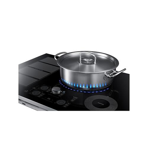 "30"" Induction Cooktop in Stainless Steel"