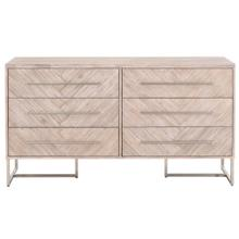 Mosaic 6-Drawer Double Dresser