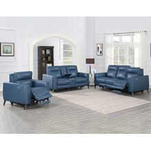 Sansa 3-Piece Dual-Power Reclining Leather Set
