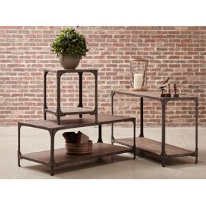 Irwin Wood & Metal Sofa Table