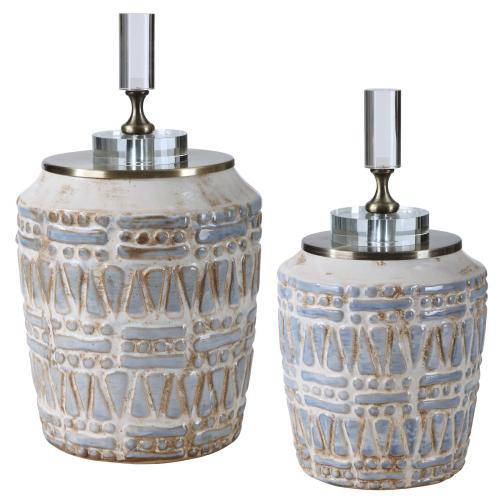 Uttermost - Lenape Bottles, S/2