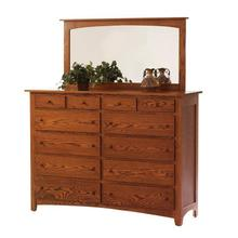 "Elizabeth Lockwood 66"" High Dresser- Mirror"