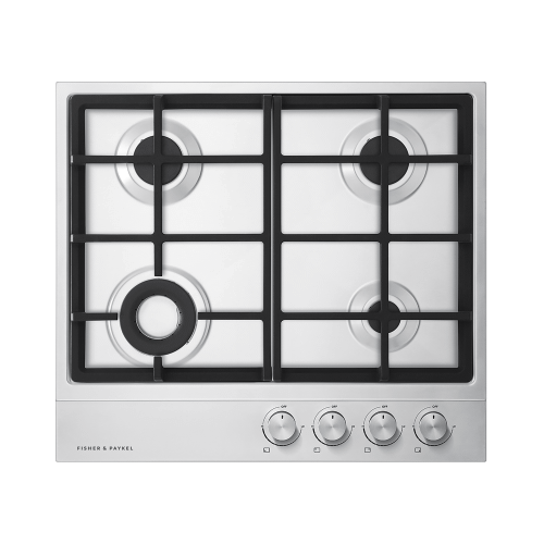 """Fisher & Paykel - Gas on Steel Cooktop, 24"""""""