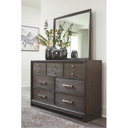 Brueban Dresser and Mirror