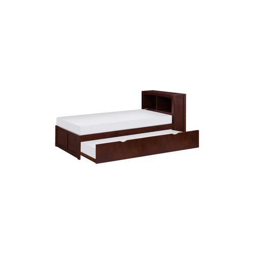 Twin Bookcase Corner Bed