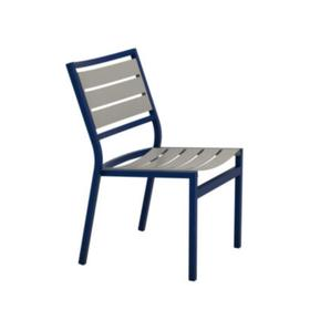 Cabana Club Aluminum Slat Side Chair