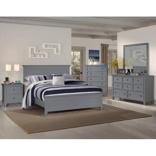 Tamarack Queen Bed Grey