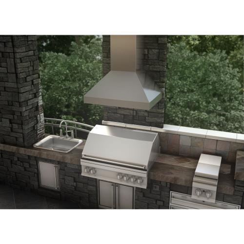 ZLINE Outdoor Wall Mount Range Hood in Stainless Steel (597-304) [Size: 30 Inch]