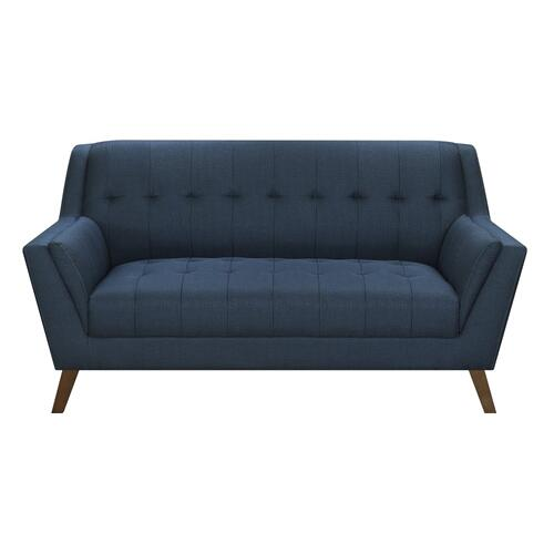 Emerald Home Loveseat Navy Peacock U3216-01-04a