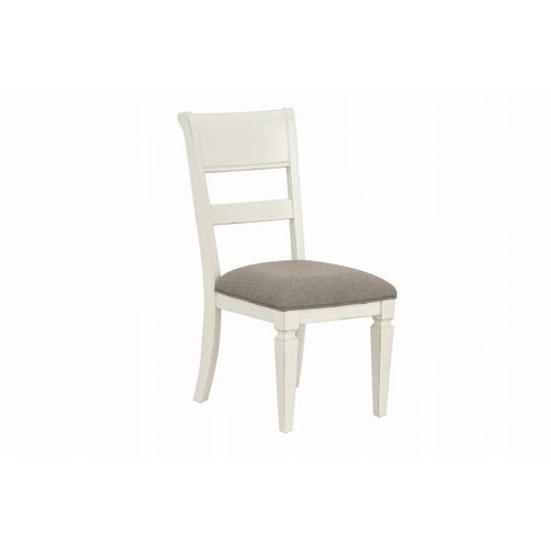 Standard Furniture - Chesapeake Bay 2-Pack Upholstered Dining Chairs, White
