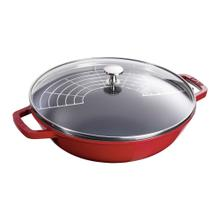 Staub Cast Iron 4.5-qt Perfect Pan, Cherry