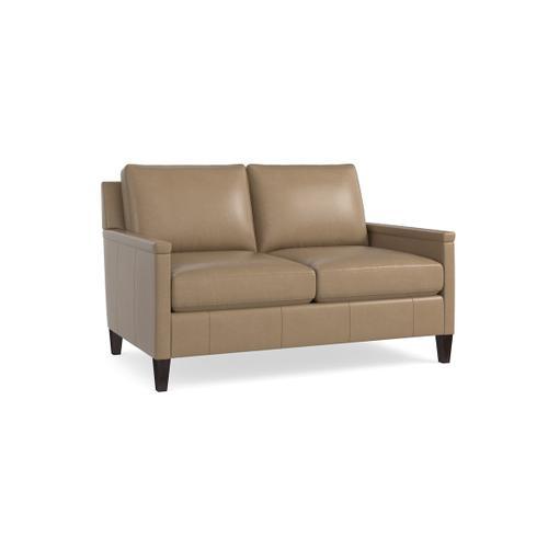 Bassett Furniture - Miranda Leather Loveseat