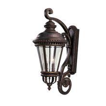 Castle Large Lantern Grecian Bronze