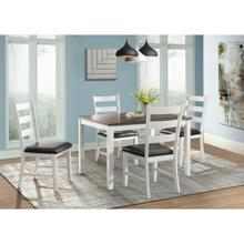 View Product - 5 Piece Set (Dining Table and 4 Chairs)