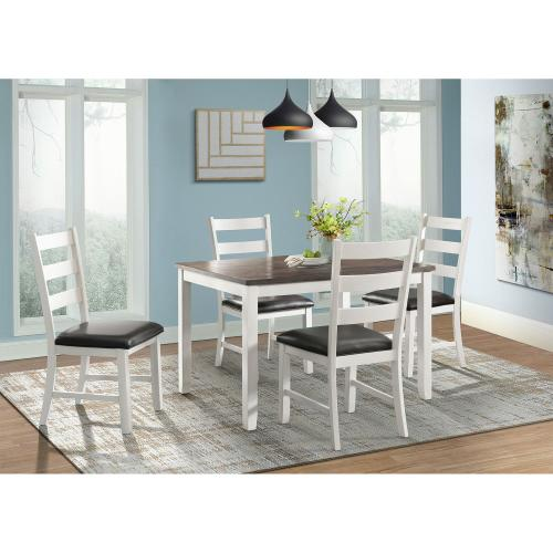 Martin Brown 5PC Dining Set-Table & Four Chairs