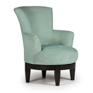 See Details - JUSTINE Swivel Barrel Chair