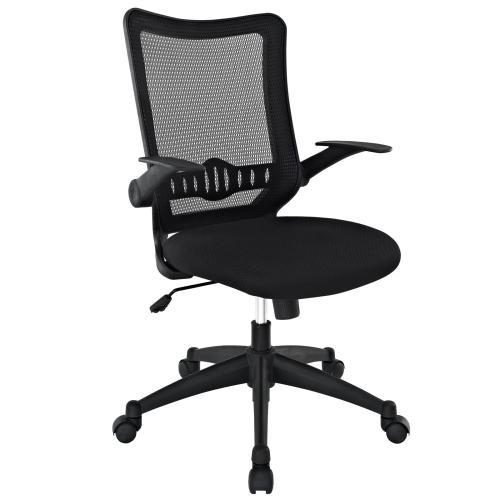 Explorer Mid Back Mesh Office Chair in Black