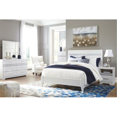 Jallory Queen Panel Bed