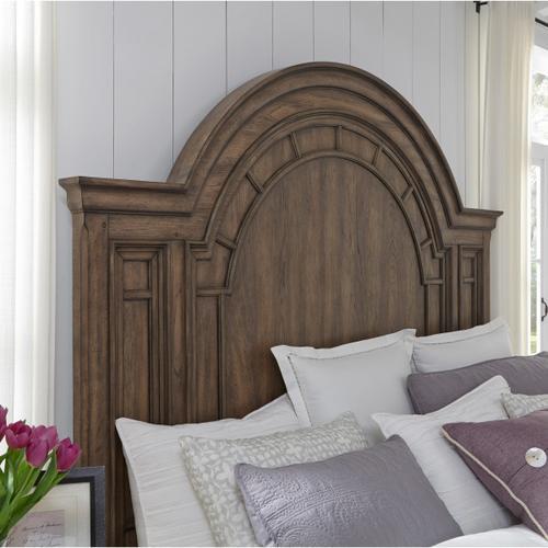 Pulaski Furniture - Glendale Estates Queen Headboard in Brown