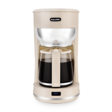 Kalorik 10 Cup Retro Coffee Maker, Cream