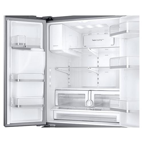 "33"" Wide, 26 cu. ft. Capacity 3-Door French Door Refrigerator with CoolSelect Pantry (Stainless Steel)"