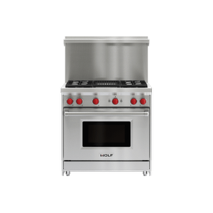 "36"" x 20"" Gas Range Riser With Shelf"