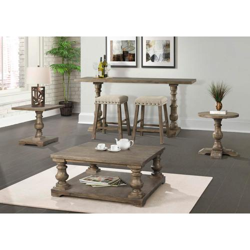 7040 Charleston Square Pedestal End Table