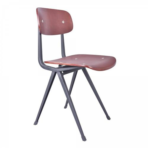 Armen Living Levi Industrial Dining Chair