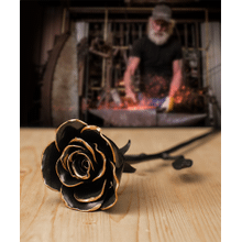 View Product - Hand Forged Rose Keepsake