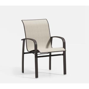 Low Back Cafe Chair - Padded Sling