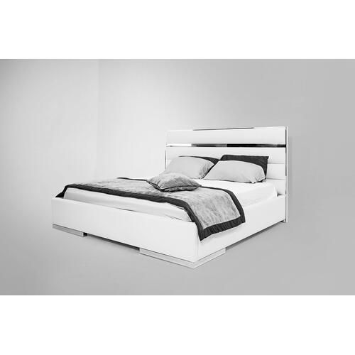 Nova Domus Francois Modern White Bedroom Set